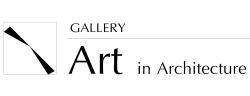 Gallery art in architecture logo