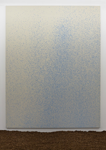 Lucien Smith, Seven Rain Paintings, 2011, Oh-wow Gallery