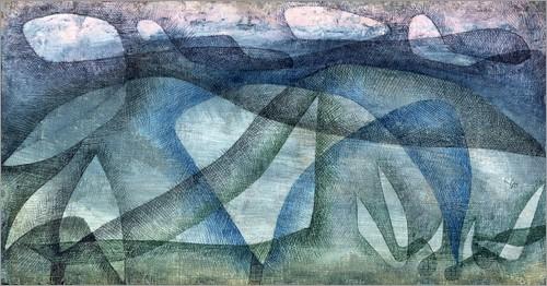 Paul Klee, Deszczowy dzień, 1931, Bridgeman Art Library