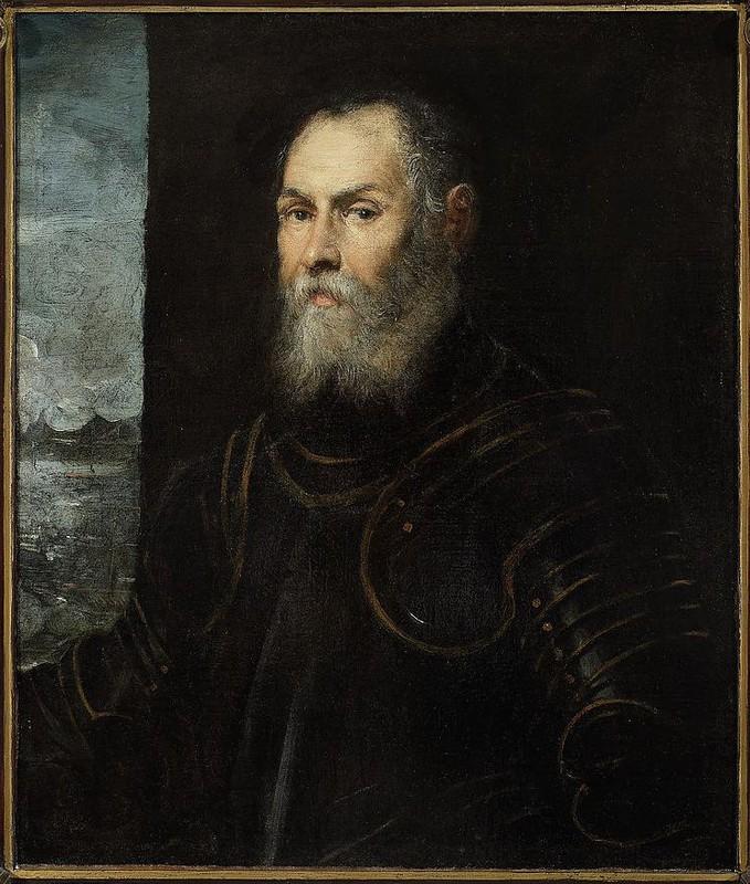 Jacobo Robusti zw. Tintoretto,  Portret weneckiego admirała, ok.1570 roku, ze zbiorów Muzeum Narodowego w Warszawie