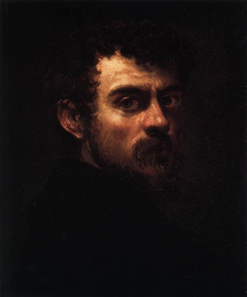 Tintoretto, Autoportret, 1547 rok, Museum of Art, Philadephia