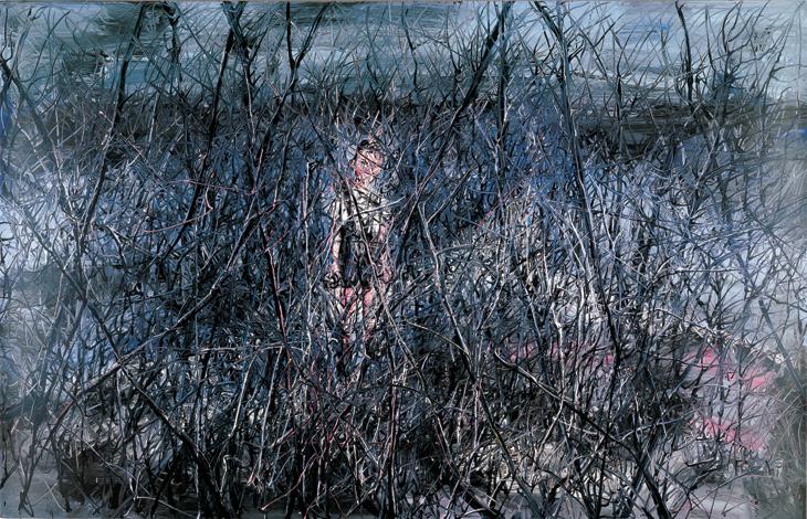 Zeng Fanzhi, Little Boy, 2006, źródło: Saatchi Gallery