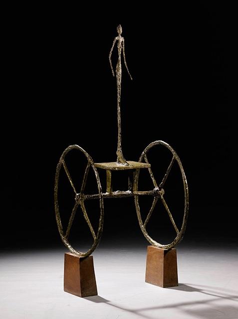 Alberto Giacometti, Rydwan, 1950-1952, źródło: Sotheby's