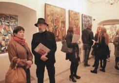 Fotorelacja z wystawy Eugeniusza Gerlacha