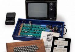 Pierwszy komputer legendy firmy Apple – Steve'a Jobsa – sprzedany na aukcji w Christie's