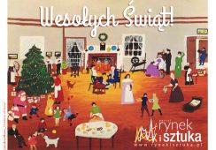 Wesołych Świąt życzy portal Rynekisztuka.pl