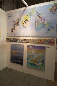 Prace Justysty Pennards-Sycz. Edynburgh Art Fair 2014
