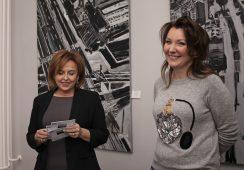 Fotorelacja z wystawy Wioletty Jaskólskiej w Galerii 101 Projekt w Warszawie