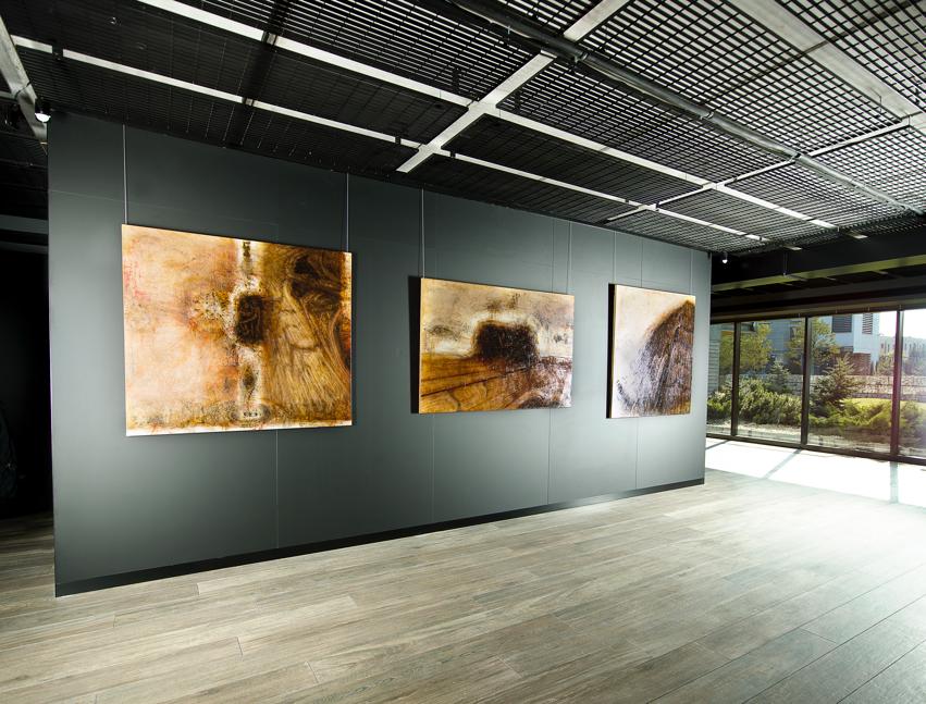 Wnętrze galerii Dagma Art