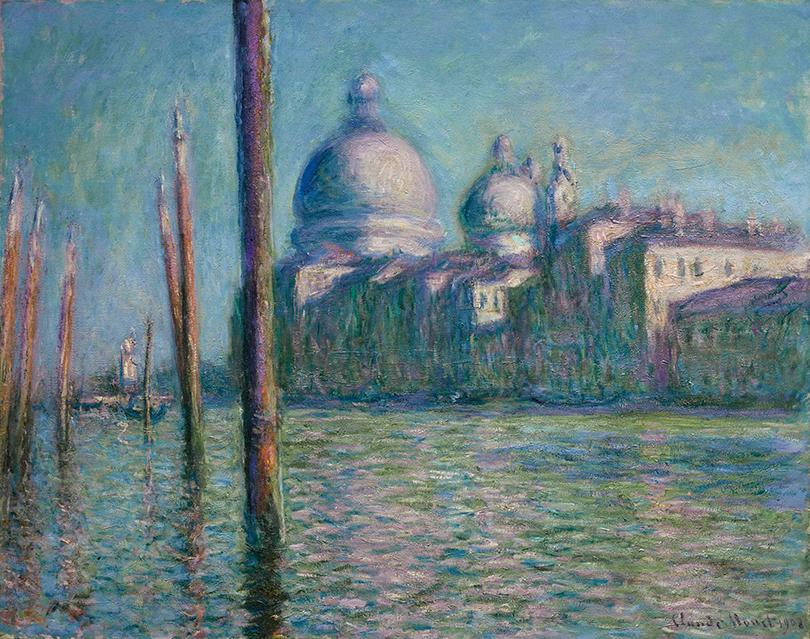 Claude Monet, Le Grand Canal, 1908, źródło: Sotheby's