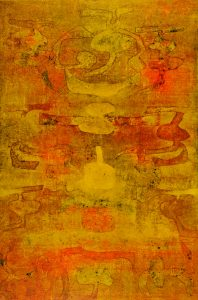 VS.Gaitonde, Untitled, 1979, źródło: Christie's