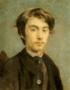 Henri de Toulouse-Lautrec, Portret Émile'a Bernarda, 1886