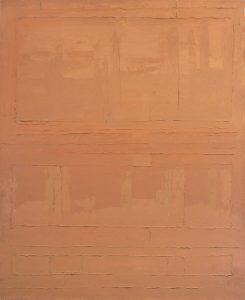 Roman Opałka, Alfabet grecki, 1964,100x80cm, olej na płótnie. Galeria Miejska we Wrocławiu