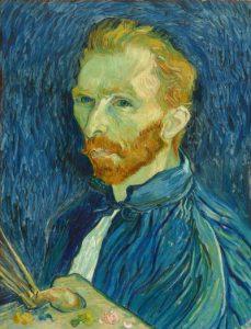 Vincent van Gogh, Autoportret, 1889, National Gallery of Art w Waszyngtonie D.C.