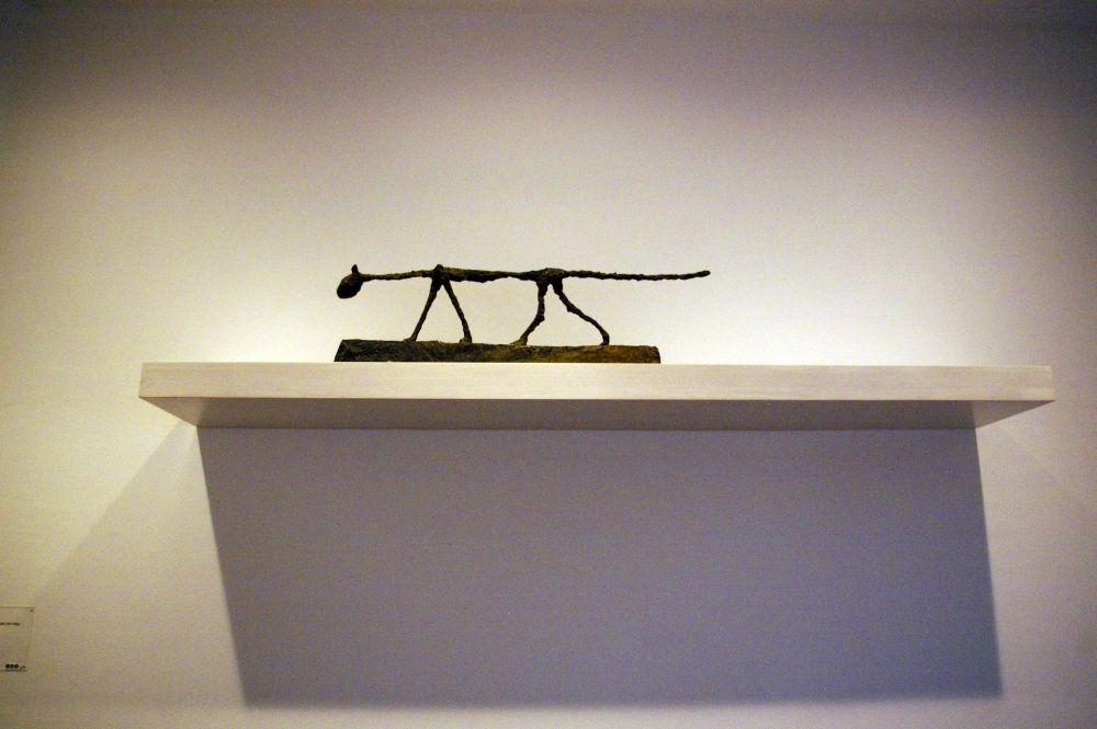Alberto Giacometti, Kot, z kolekcji Muzeum Berggruen w Berlinie, fot. Karolina Przybylińska