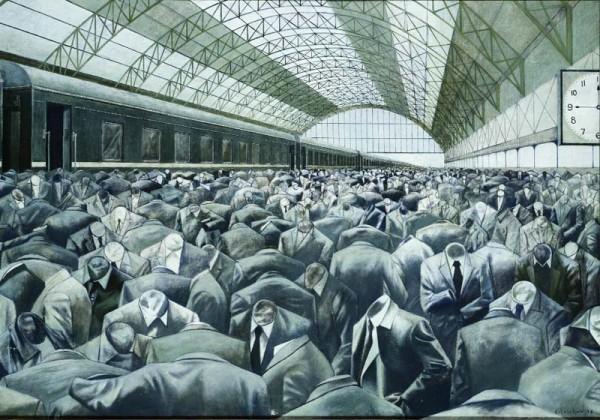 A. Akopian, Dworzec, 1979, źródło: Ria.ru