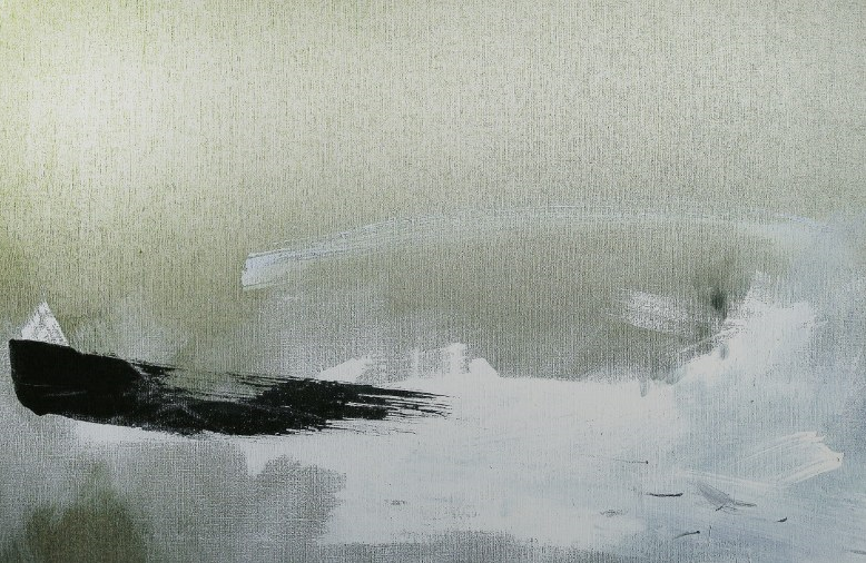 Agata Kosmala, Bez_tytułu, olej na płotnie, 120x80cm fot. dzięki uprzejmości artystki.