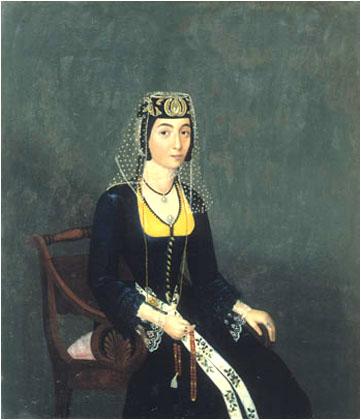 Akop Ovnatanian, Portret  Melikiszwili, XIX wiek, źródło: Wikipedia
