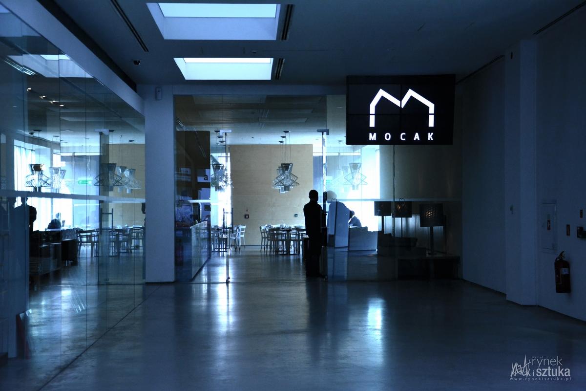 Wnętrze Muzeum Sztuki Współczesnej MOCAK w Krakowie