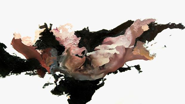 Kamil Kukla, Bez tytułu, olej na płycie, 90x160cm, 2012 fot. dzięki uprzejmości artysty.