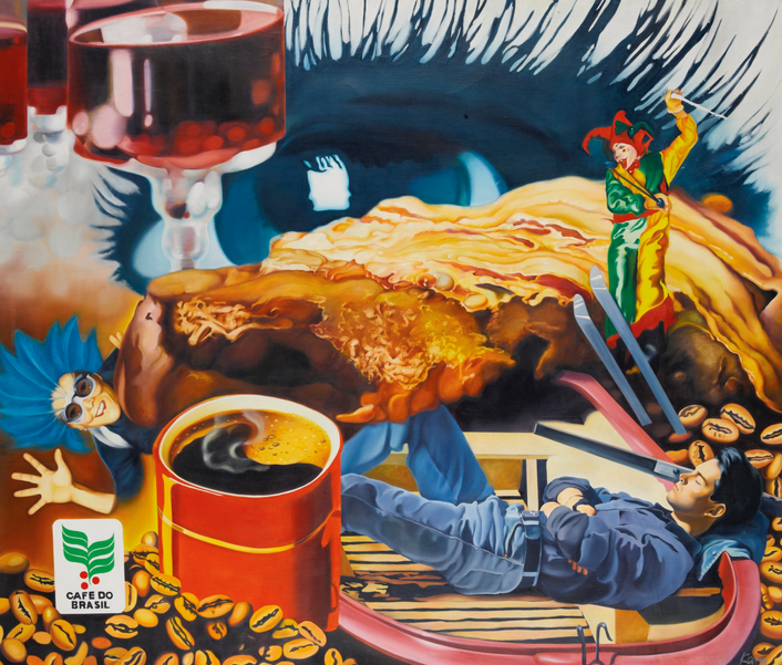 Karine Matsakyan, Coffee dream, 1995, źródło: Sotheby's
