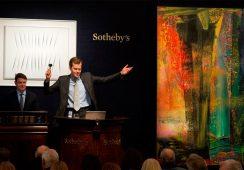 Fenomen Richtera i najbardziej dochodowa aukcja sztuki współczesnej