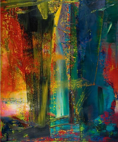 Gerhard Richter, ABSTRAKTES BILD, 1986, źródło: Sotheby's