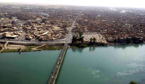 Miasto Mosul nad Tygrysem, źródło: Wikipedia