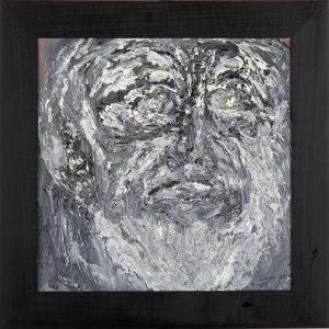 Wojciech-Tut-Chechliński-Maska-olej-na-płótnie-39-x-39-cm-2012-r-sygnowany-kat.-098-
