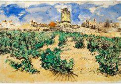 Odkryty po 100 latach pejzaż van Gogha
