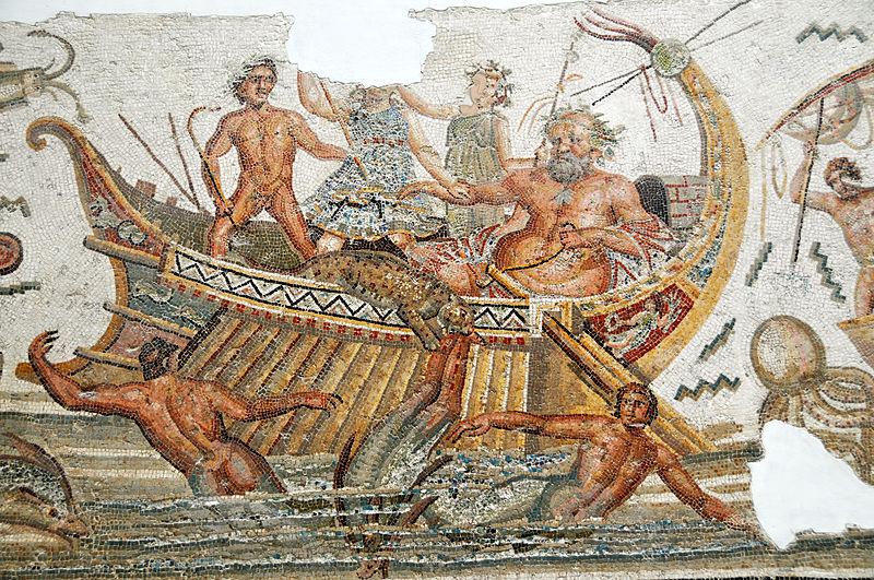 Detal przedstawiający Ulissesa z Muzeum Narodowego Bardo w Tunezji, źródło: Wikipedia