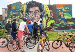 Stolica Kolumbii legalizuje graffiti?