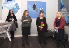 Otwarcie wystawy Agnieszki Sandomierz w Galerii 101 Projekt w Warszawie