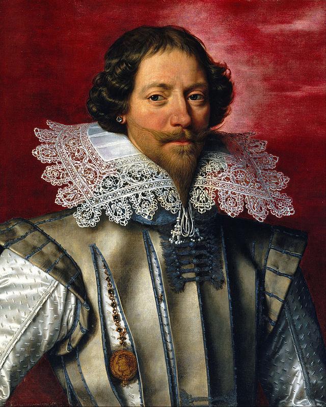 Frans Pourbus Młodszy, Portret Mężczyzny, The Weiss Gallery z Londynu