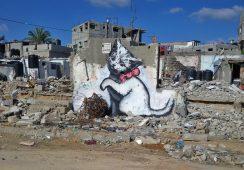 Banksy powraca do Gazy