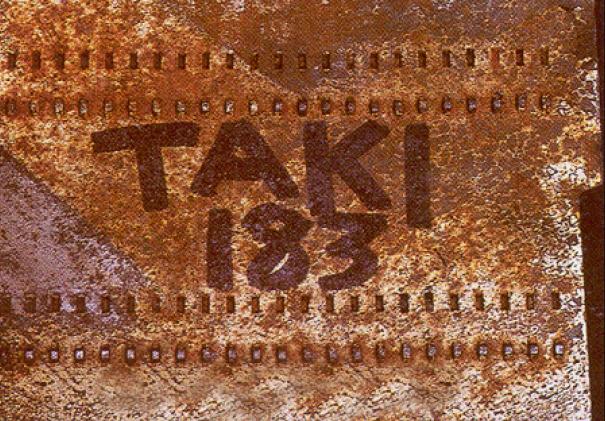 Tag artysty znanego jako Taki 183, źródło Taki183.net