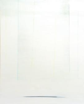 Yoko Aoyama, Szansa, 2012, technika akrylowa na płótnie, 227 x 182 cm