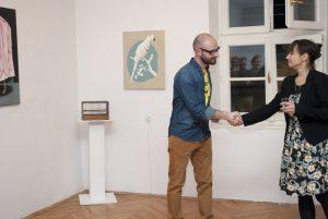 Wernisaż wystawy Dawida Czycza  Fot. Galeria Zderzak