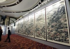 Cui Ruzhou pobił swój poprzedni rekord na tegorocznej aukcji Poly w Hong Kongu