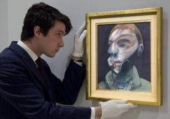 Nowo odnalezione autoportrety Francisa Bacona na aukcji Sotheby's