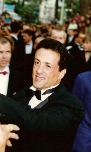 Sylvester Stallone at the Cannes film festival 1993 rok
