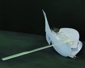 Bartek Wegrzyn,2012, follow the white rabbit,180x140x110 , Plexiglas