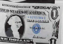 """""""Dollar Sign"""" Warhola najdroższe na aukcji w londyńskim Bonhams"""