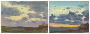 Claude Monet, Etude de ciel, 1868, źródło: www.richardgreen.com