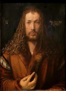 Dürer_-_Selbstbildnis_im_Pelzrock_-_Alte_Pinakothek_206