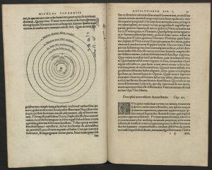 Dzieło Mikołaja Kopernika - De revolutionibus orbium coelestium libri VI, ze zbiorów Biblioteki UMK_0906