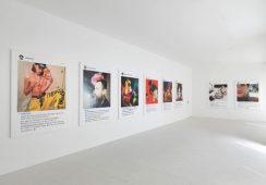 Zdjęcia Richarda Prince'a z Instagrama w Gagosian Gallery