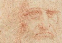Autoportret Leonarda da Vinci po raz pierwszy na publicznej wystawie