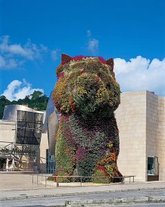 Puppy, Jeff Koons, źródło: Guggenheim Museum