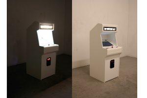 "Symulator gry ""Jeff Koons must die"", źródło: hunterjonakin.com"